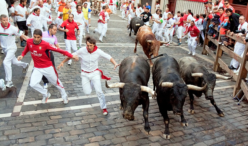 an analysis of the spanish culture and the running of the bulls at the fiesta de san fermin
