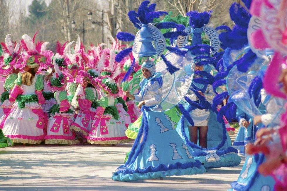 Карнавал в Сьюдад-Реале (Кастилия–Ла-Манча)