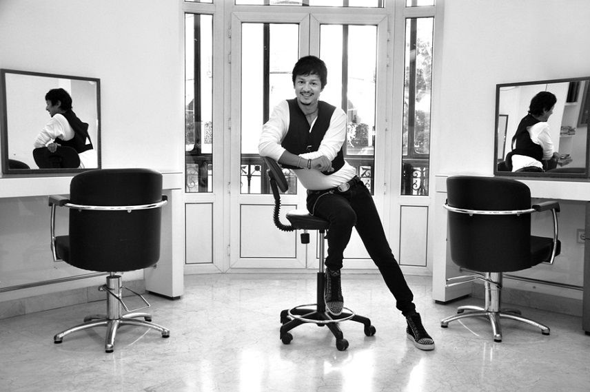 Эдуардо Санчес: парикмахер