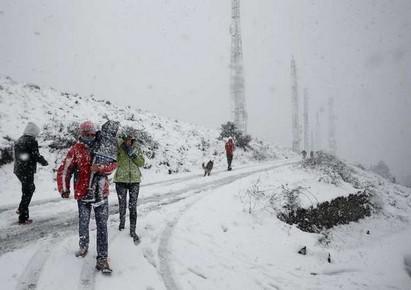 Снег, ветер, наводнение – самые популярные слова в Испании в эти выходные