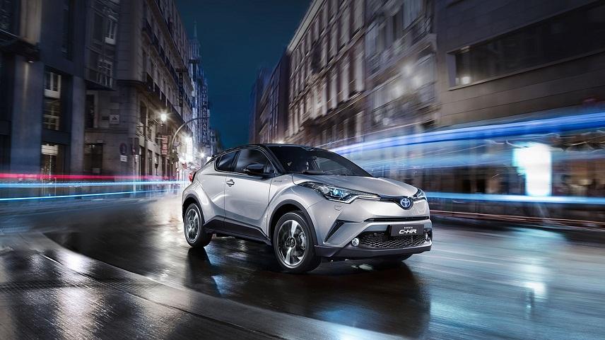 ВИспании на рынке автомобилей появится новый кроссовер Тойота C-HR