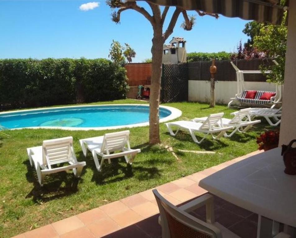 Villa de lujo mansion espa a tarragona calafell - Camping de lujo en espana ...