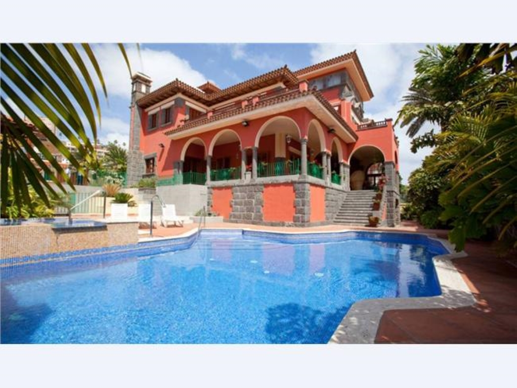 Villa de lujo mansion espa a las palmas palmas de gran for Villas de lujo en madrid