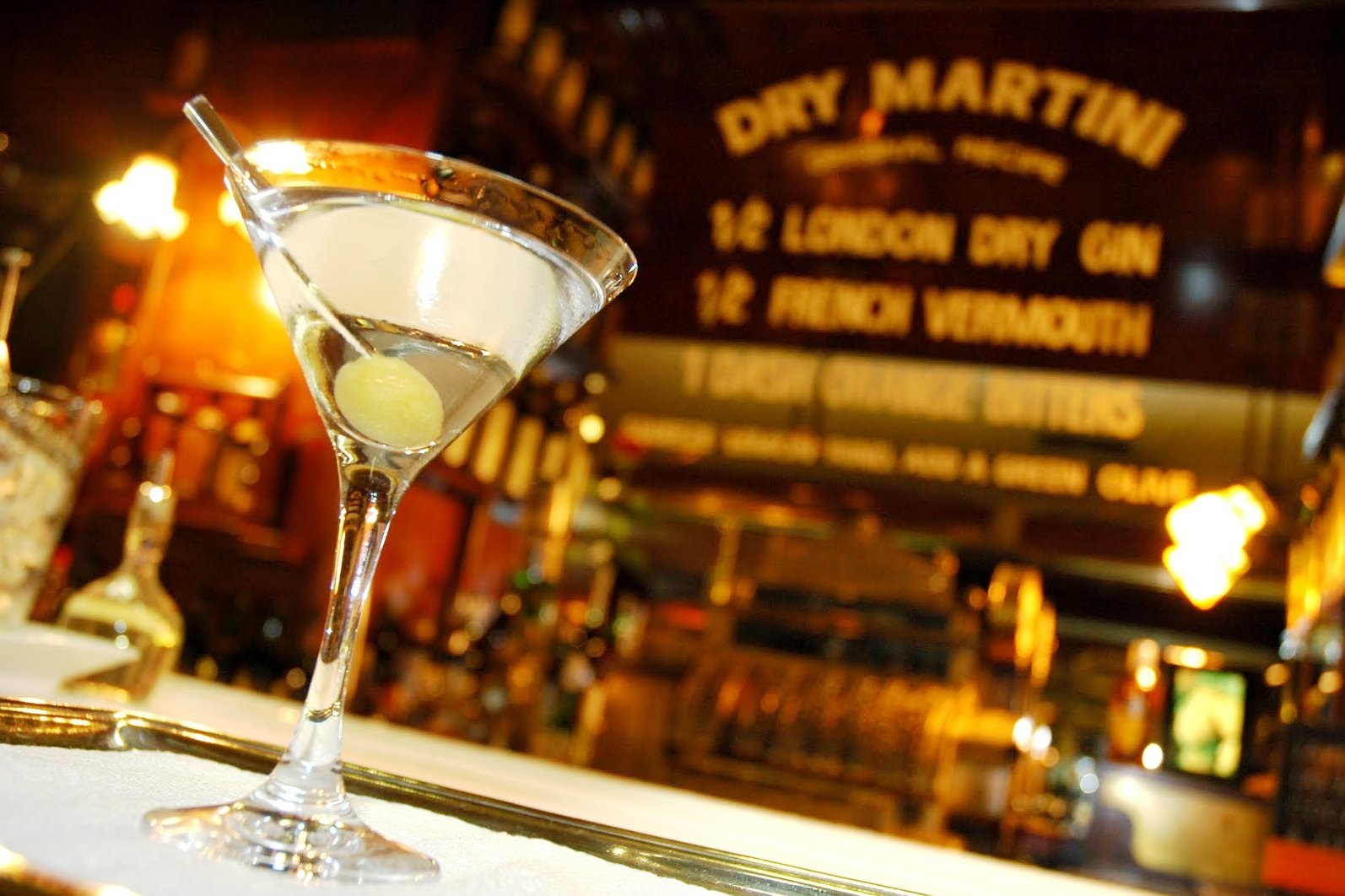 Dry Martini, 50 best bars of the world.