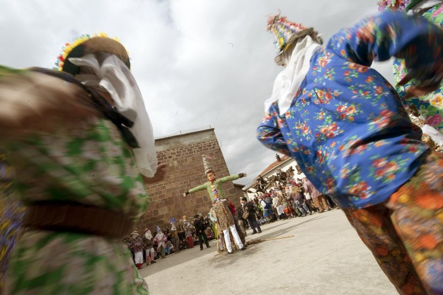 Карнавал в Ланце (Наварра)