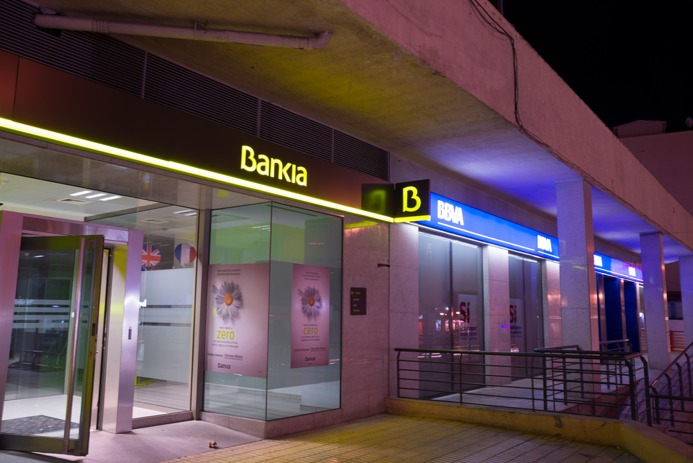 Счет в банке Испании