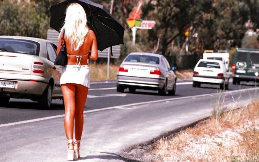 картинках проститутки в на дорогах