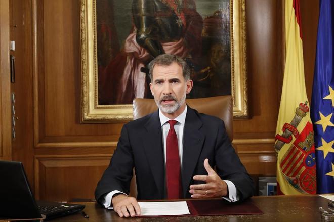 Монарх Испании назвал действия каталонских властей нелегальными