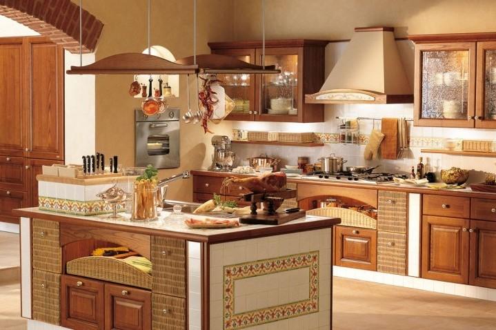 Интерьер кухни в испании 183