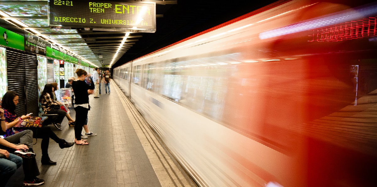 Путешествуем по метро Барселоны