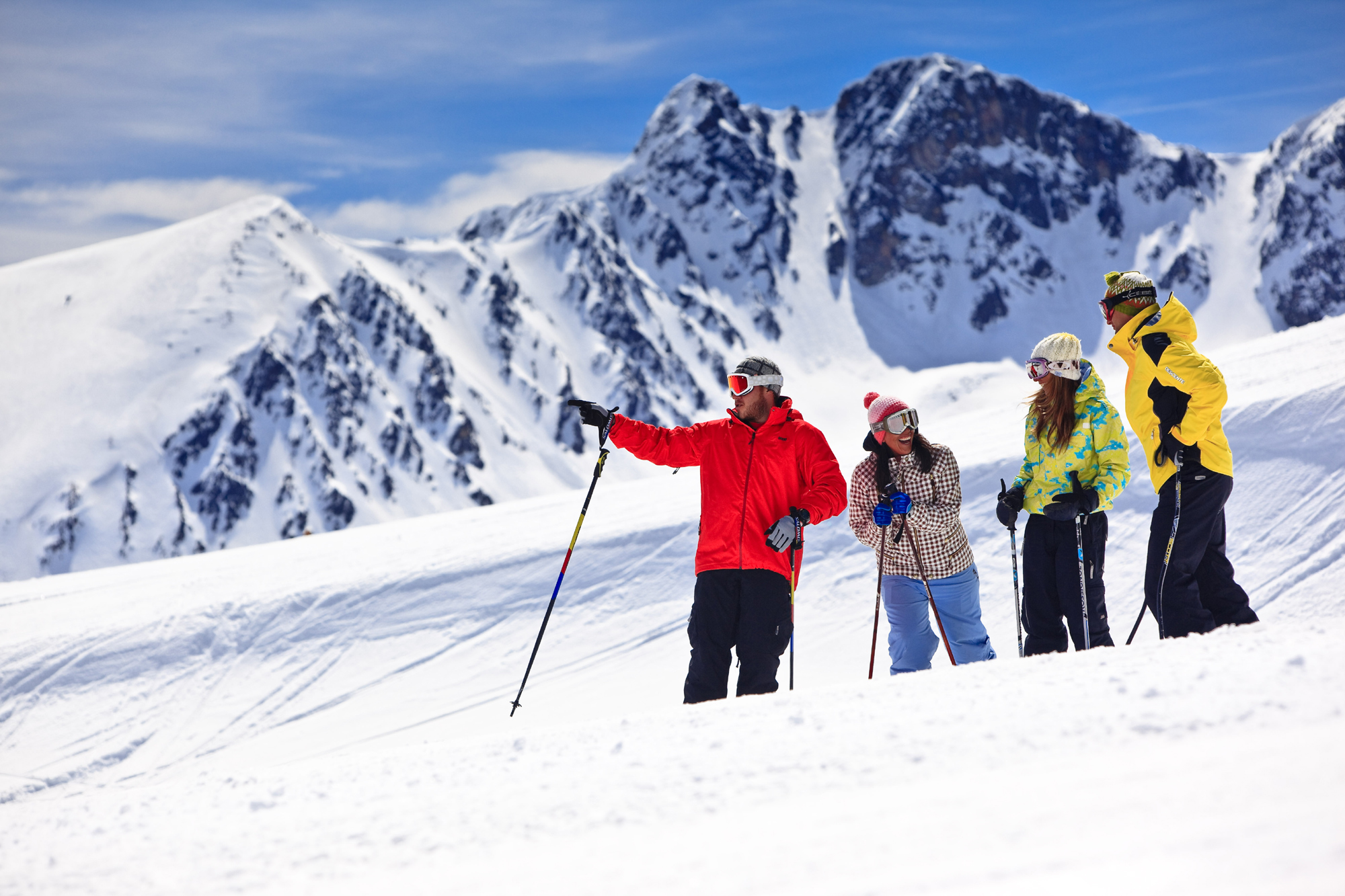 Неделя на горнолыжных склонах в Андорре!