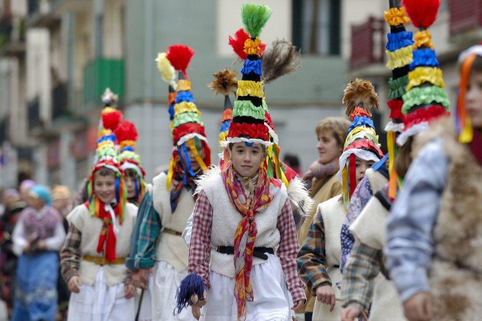 Карнавал в Толосе (Гипускоа, Страна Басков)
