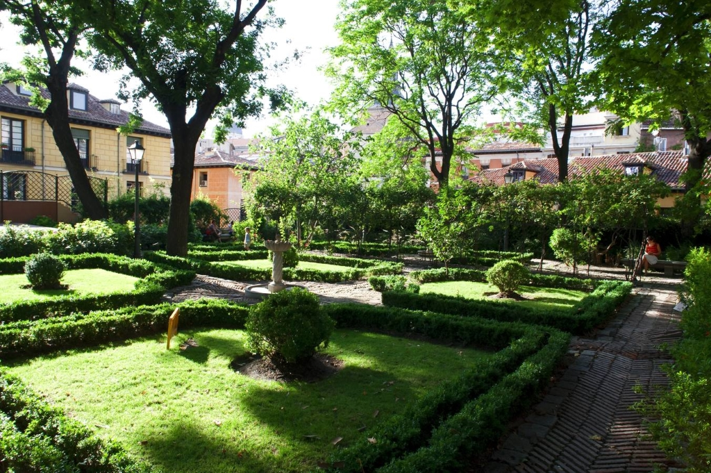 Jardin del principe de anglona en madrid jardines en espa a for Calle jardines madrid