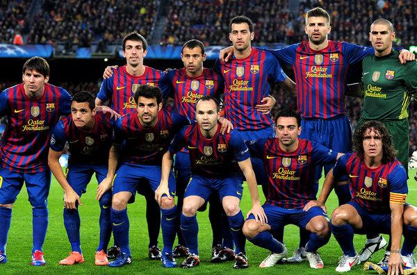 Барселонаиспания футбольный клуб