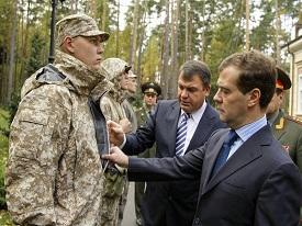 Rusia En Moscu han probado el uniforme «del soldado del futuro»