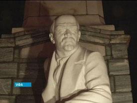 El monumento a Lenin En Ufá
