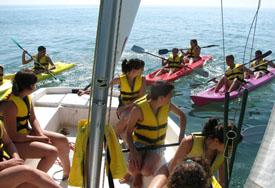 Испания Морской летний лагерь в Валенсии