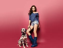 Ирина шейк в рекламе испанской обуви