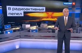 España Un presentador de la tele rusa asegura que Rusia puede 'convertir los EE.UU. a cenizas radiactivas'