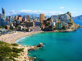 Испания Курорты Испании. Бенидорм